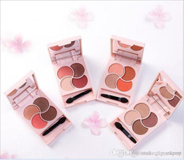 Pearl Eye Shadow NZ - Blasting with authentic cosmetics smooth eye shadow color pearl grapefruit dumb everbright to four color color eye shadow tray wholesale