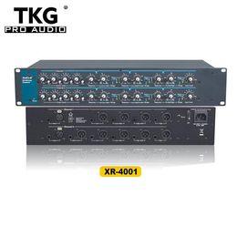 Crossovers XR-4001 xr4001 crossover de audio de gestión de altavoces de gestión de altavoces profesional