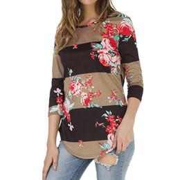 $enCountryForm.capitalKeyWord Australia - harajuku fashion trend high-end hot sale women models full Womens Ladies Round Neck Printing Long Sleeve T-Shirt Tops