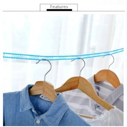clothes hanger rope Australia - 3m 5m Clotheslines Outdoor Travel Business Clothesline Laundry Non-slip Washing Clothes Line Rope