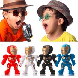 $enCountryForm.capitalKeyWord NZ - C-89 toy mini speaker Transformers robot wireless Bluetooth speakers Cartoon TF card insert U disk audio for gift laptop