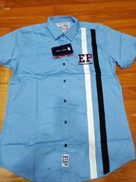 91174de9b Nueva moda masculina marca francesa para el hogar ropa para hombres camisa  Eden Park Chemise camisa masculina de manga larga de color sólido Casual  camisas ...