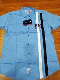 Nueva moda masculina marca francesa para el hogar ropa para hombres camisa Eden Park Chemise camisa masculina de manga larga de color sólido Casual camisas masculinas xxl