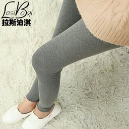 Cheap Wholesale Leggings Australia - Cheap New Ms Fashion Sexy Brands Women's Big Underwearw Large Casual Cotton Solid Color Plus Size Thin Large Leggings Pants Fat