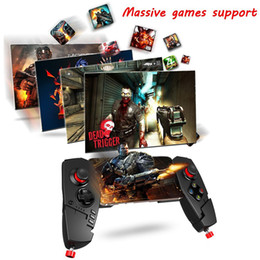 red wireless tablet Australia - Whosesale IPEGA PG - 9055 Red Spider Wireless Bluetooth Gamepad Telescopic Game Controller Gaming Joystick For Android IOS Tablet PC