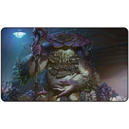 silent mouse NZ - trading card game Playmat SLIMEFOOT, THE STOWAWAY (DOMINARIA) playmat card game Mouse Pad 60cm x 35cm