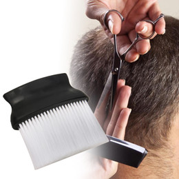 Salon Style Hair Cuts NZ - Styling Tools Combs Professional Salon Hairdressing Soft Salon Hair Cutting Neck Duster Brush hairdressing