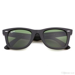 $enCountryForm.capitalKeyWord Australia - Soscar Brand Designer Sunglasses for Men Women Plank Frame Flash Mirror Glass Lens 50mm 54mm Excellent Quality Sunglasses with Original Case