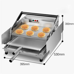 Bread Baking machines online shopping - NEW ARRIVEL Electric Hamburger Making Machine McDonald s KFC Hamburger Heating Maker Bread baking machines For Sale