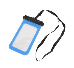 phone types UK - 2019 Hot Sell Valve type Waterproof Bag Drifting Wter Sports Essential Mobile Phone Bag for Outdoor Sports