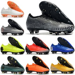best loved ac4f1 925df mercurial vapor superfly 2019 - Mens Low Ankle Football Boots Ronaldo CR7  Mercurial Vapors XII VII