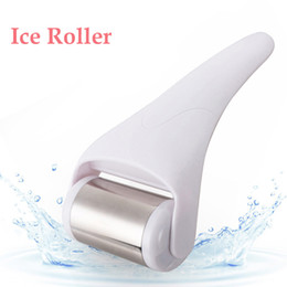 $enCountryForm.capitalKeyWord NZ - 10pcs Ice Roller facial Massager For Face Body Skin Cool derma Roller Skin Care Massage wrinkle removal Dermo Roller