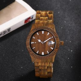 Wholesale Custom processing new explosion watch sandalwood waterproof bamboo watch health bamboo table manufacturers