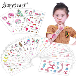 f05175da6fb8a Glaryyears 3 Pieces Set Temporary Tattoo Sticker Carton Fake Tatoo Flash  Tatto Waterproof Small Body Art Children 11 Designs