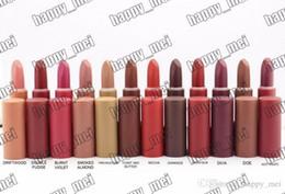 makeup factory lipstick 2019 - Factory Direct DHL Free Shipping New Makeup Lips M5544 Matte Lipstick!12 Different Colors cheap makeup factory lipstick