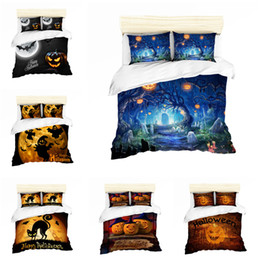 $enCountryForm.capitalKeyWord Australia - 3D Halloween Design Bedding Set 2PC 3PC Duvet Cover Set Of Quilt Cover & Pillowcase US UK AU Size