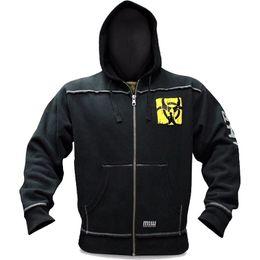 ace87ccdcc5 Hoodies dos homens de Inverno Hoodies Fleece de Fitness Musculação Camisola  Crossfit Pulôver Sportswear Masculino Treino Com Capuz Jaqueta Roupas
