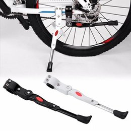 Bicycle Hold Australia - 34cm Adjustable MTB Bicycle Kickstand Parking Rack Road Mountain Support Side Kick Stand Foot Brace Cycling Parts Bike Hold #233433