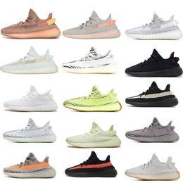 Discount light womens running shoes - BEST TOP Mens Womens Running Shoes Kanye West Clay Hyperspace True Form Static Sesame Butter Beluga Black Bred Red Sneak