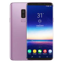 Wifi Touch Cell Phone Unlocked Australia - Goophone 9+ 6.2inch MTK6580 Unlocked cell phone Quad Core android 1G Ram 8G Rom show fake 4G fingerprint