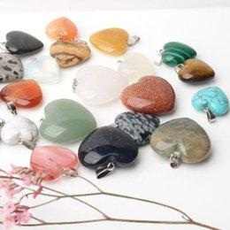 Beads No Dye 8*12mm Genuine Amethysts Green Aventurine Pink Quartz Water Drop Ring Face For Diy Necklace Ring Bracelet Jewelry Bag Jade White