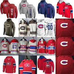montreal sweatshirt Australia - Montreal Canadiens Hockey Hoodie Sweatshirts 31 Carey Price 6 Shea Weber 5 Andrew Shaw 67 Max Pacioretty Gallagher Jonathan Drouin Any Name