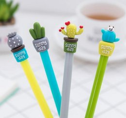 Stationery Australia - Creative Stationery Catus Pens Cartoon Needle Pens 0.5mm Kids Prize Creative Gifts For Children School & Office Supplies