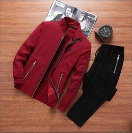 $enCountryForm.capitalKeyWord Australia - brand sportswear fashion men's NIKE sportswear two-piece hoodie + tether casual pants sports suit male