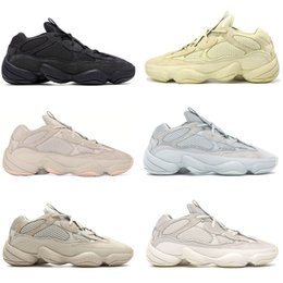 blue moon boots 2020 - 500s Bone White Super Moon Yellow Utility Black Blush Salt Running Shoes Kanye West Mens Women Sports Sneakers cheap blu
