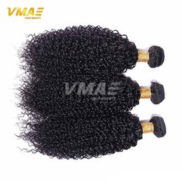 $enCountryForm.capitalKeyWord Australia - VMAE Hair On Sale Brazilian kinky curly Weave Hair 3Pcs Lot Unprocessed Best Quality Brazilian Hair Weave Bundles Extensions