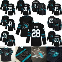 Discount 48 sharks jersey - 28 Timo Meier San Jose Sharks 2019 Third 3rd  Alternate 31 32069b384