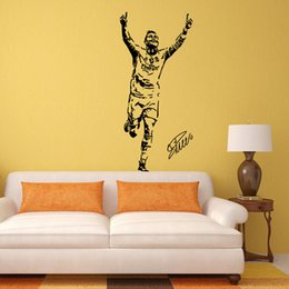 $enCountryForm.capitalKeyWord Australia - 42*92cm Ronaldo Wall Decal Sticker Poster Football Soccer Player Portugal Vinyl Wall Decal Mural Bedroom Home Dormitory Decor