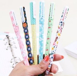 $enCountryForm.capitalKeyWord Australia - Color Gel Starry Pattern Cute Kitty and Dot Pattern Stationery Students Office Supplies 6 Pcs Set 2018