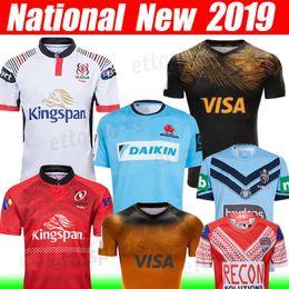 S lan online shopping - 2019 Lan Holden NSW JAGUARES rugby jersey League Waratahs rugby shirt national football jaguars leopard Home away size s xxl