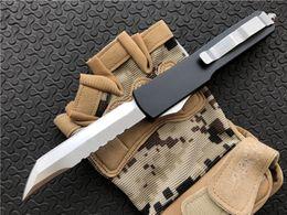 "$enCountryForm.capitalKeyWord Australia - UT D A Tanto Knife CNC D2 Steel 3.4"" Satin Plain 6061-T6 Aluminum Handle Camping Hunting Survival Knives Xmas gift for men P88Q"