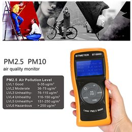 Monitor Gas Australia - Digital Air Quality Monitor PM2.5 Detector PM10 Particle Concentration Sensor Gas Tester Air Analyzer Diagnostic tool