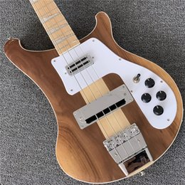 $enCountryForm.capitalKeyWord Australia - Free Shipping NEW Ric 4003W Natural Walnut Bass RARE TRANSLUCENT WALNUT vintage 4003 Electric Bass Guitar Neck Thru Body One PC Neck & Body