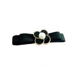 $enCountryForm.capitalKeyWord UK - Four-leaf clover hair clip ponytail double-layer bow spring clip fashion korean hair bows hairgrips for women accessories