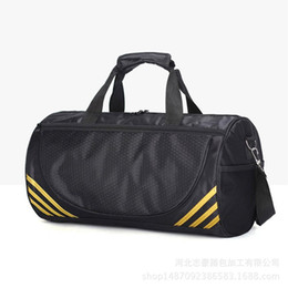 4b11c9b8e79f Gym Bag Independent Shoe Seat Yoga Single Shoulder Cylinder Waterproof  Oxford cloth Bag Body Building Travel Sports