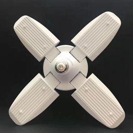 $enCountryForm.capitalKeyWord Australia - Special lamp 45W E27 LED Bulb led deformable lamp SMD2835 Super Bright Foldable Fan Blade Angle Adjustable Ceiling Lights Home Energy Saving