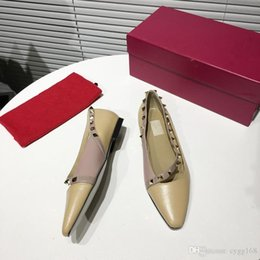 $enCountryForm.capitalKeyWord Australia - In early spring the new flat Ms single shoes delicate generous casual shoes High quality decoration hot sale