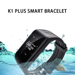 $enCountryForm.capitalKeyWord NZ - 2019 Hot Sale New K1 plus Smart Band Fitness Bracelet Real Time Watch Heart Rate Monitor Waterproof Activity Tracker Smart Wristband