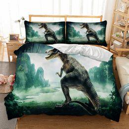 $enCountryForm.capitalKeyWord NZ - 3D Dinosaur Design Bedding Set 2PC 3PC Duvet Cover Set Of Quilt Cover & Pillowcase Twin Full Queen King Size
