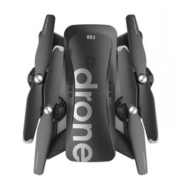 dog videos UK - F88 Drone RC Quadcopter Foldable Portable WiFi Drones with HD Wide-Angle Live Video Camera Altitude Hold Mode Drone Toys Childre