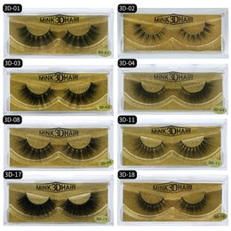 $enCountryForm.capitalKeyWord Australia - Whosale 3D False Eyelashes 100% Mink Lashes Hand Made Thick Eyelash Extension Makeup Beauty Natural Long Fake Eye Lashes