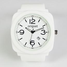 Logo Brand Man Watch Australia - Silicone Watch Rubber Sports Men Custom Your Own Logo Brand Reloj Japan Movement Lense Free Shipping Interchange Straps 11 Color Y19052103