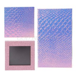 Wholesale Empty Eyeshadow Palettes Australia - Free Shipping Fish Scale Empty Magnetic Makeup Palette DIY Eyeshadow Concealer Case Holder Pro