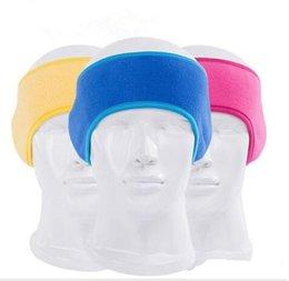Atacado inverno orelha muffs Headband unisex ouvido mais quente polar de lã faixa de cabelo quente headbands ouvido de esqui mais quente esportes ao ar livre earmuffs 8 Cores em Promoção