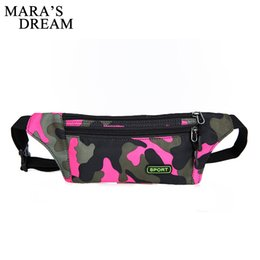holidays packs Australia - Maras Dream Men Women Fanny Pack Bum Bag Waterproof Nylon Waist Belt Pouch Travel Holiday Money Wallet Mobile Phone Belt Bag