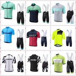 $enCountryForm.capitalKeyWord Australia - Morvelo team Cycling Short Sleeves jersey bib shorts sets breathable Quick Dry bike bicycle riding mountain bicycle clothes F60923